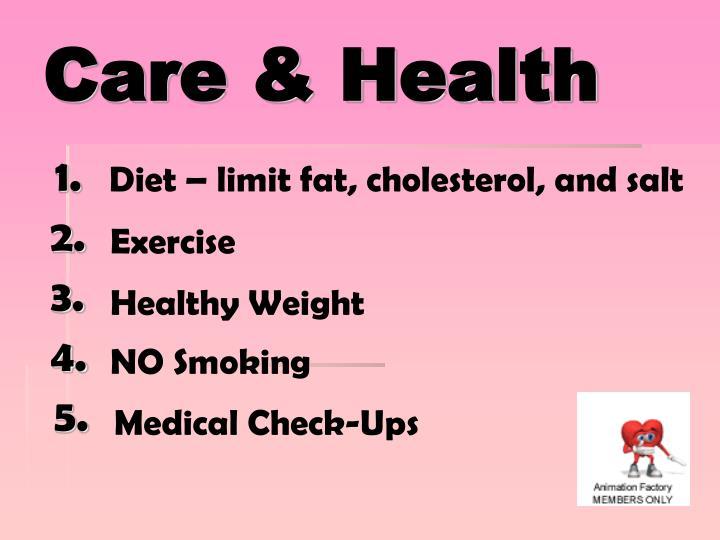 Care & Health