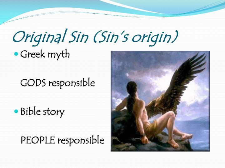 Original Sin (Sin's origin)