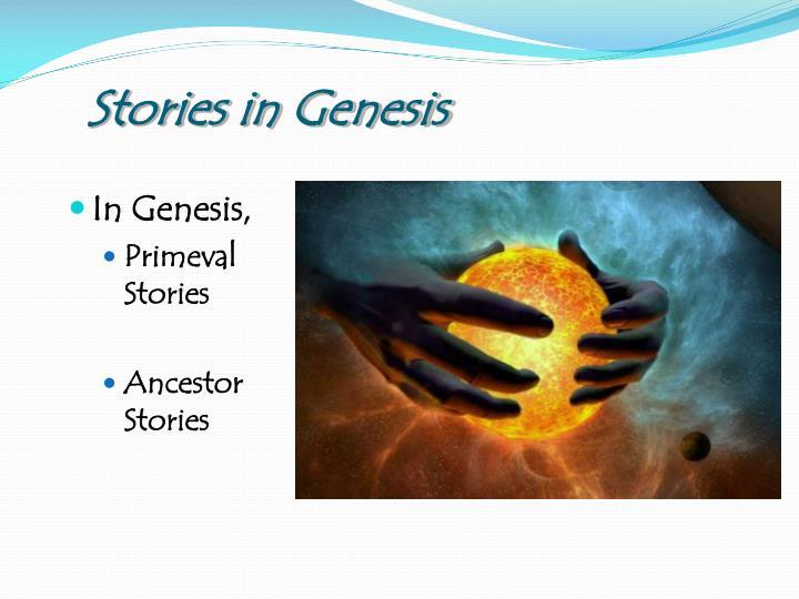 Stories in Genesis