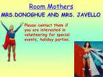 room mothers