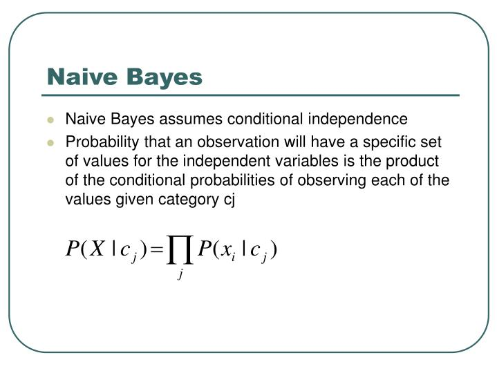 Naive Bayes