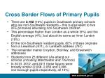 cross border flows of primary pupils1