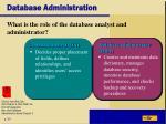 database administration1