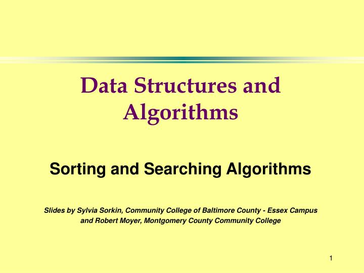 data structures and algorithms n.