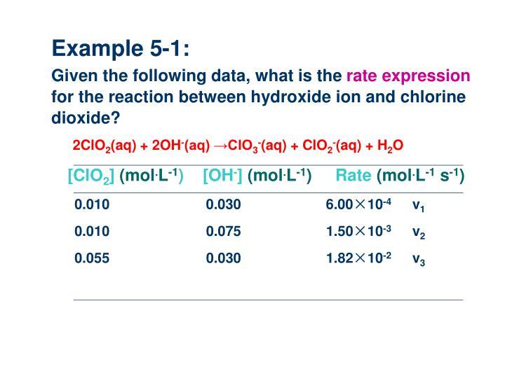Example 5-1: