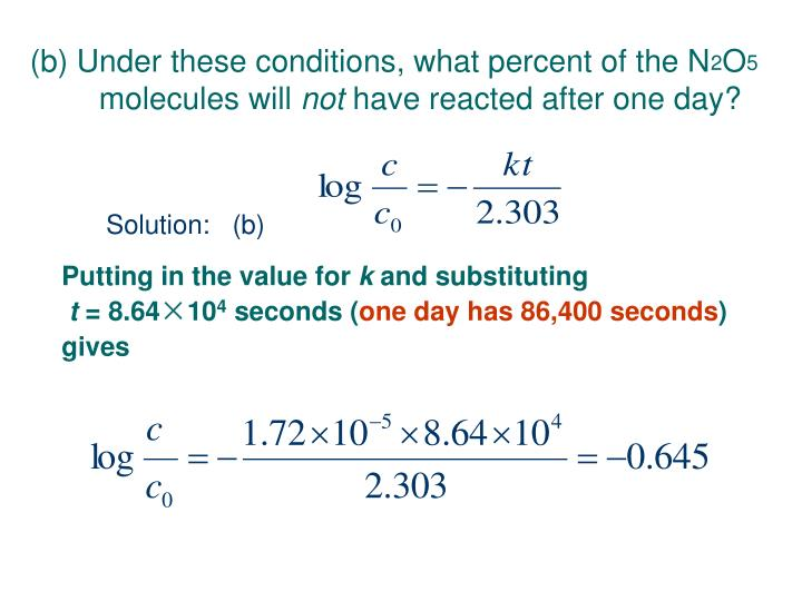 (b) Under these conditions, what percent of the N