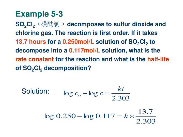 Example 5-3