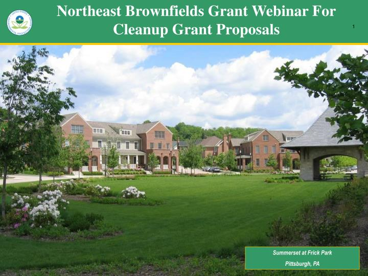 northeast brownfields grant webinar for cleanup grant proposals n.