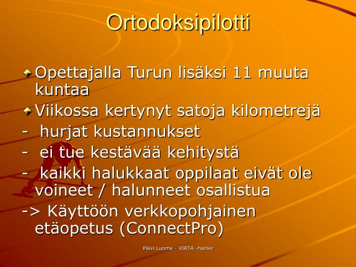 Ortodoksipilotti