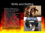 shifts and staffing