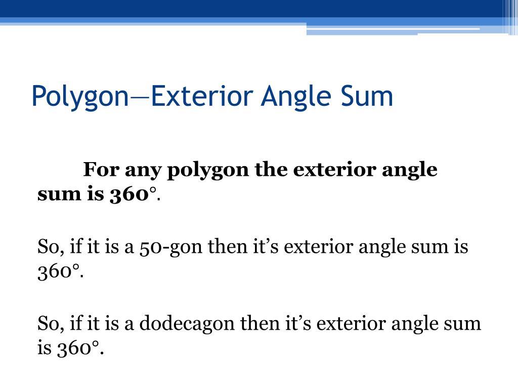 Ppt Polygonsformulas Powerpoint Presentation Id6430186
