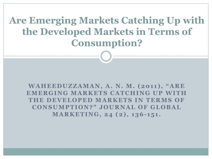 emerging marketing terminology Market penetration is a way to determine successfulness of the business model and marketing strategy for a product to check the successfulness, one must have a way to gauge the amount of the targeted market and how much potential localized or otherwise customers there are that would be susceptible to a product.