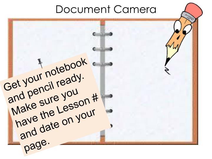 Document Camera