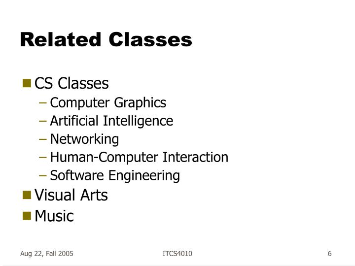 Related Classes