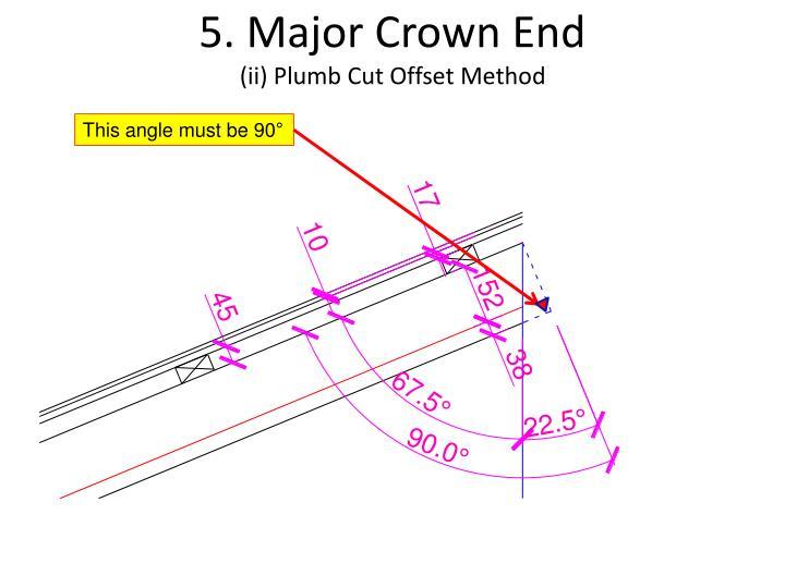 5. Major Crown End