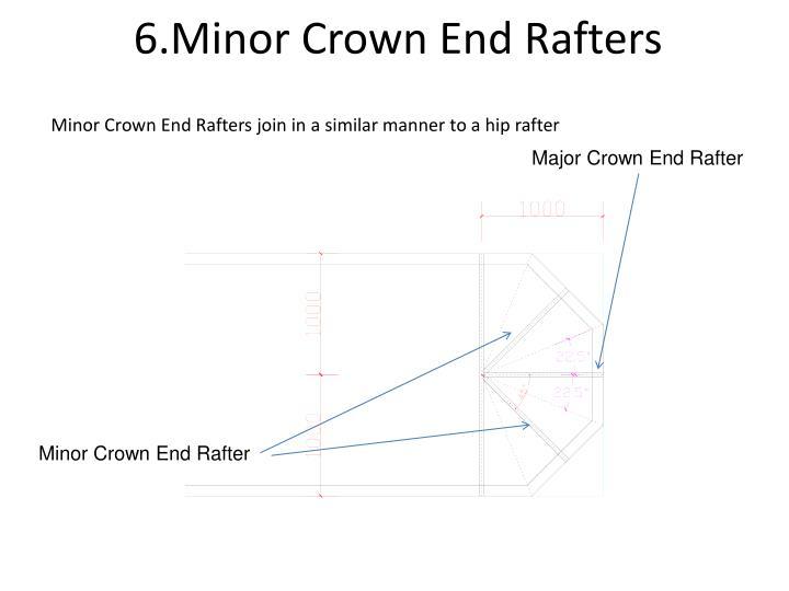 6.Minor Crown End Rafters