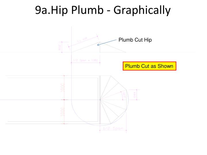 9a.Hip Plumb - Graphically