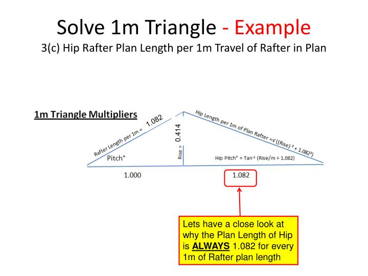 Solve 1m Triangle
