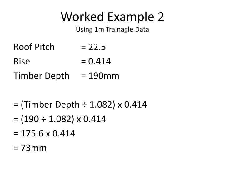 Worked Example 2