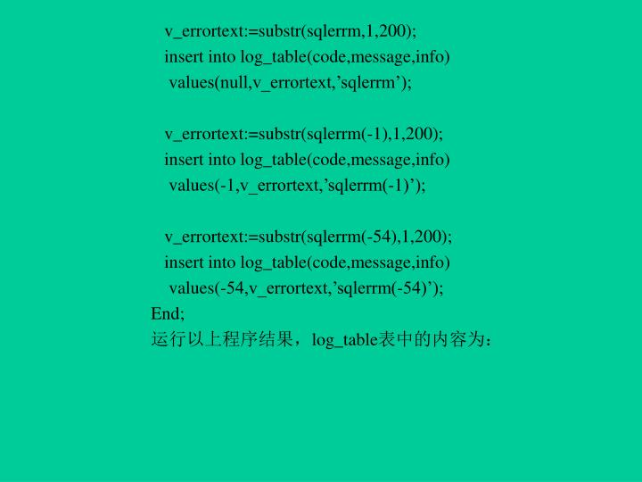v_errortext:=substr(sqlerrm,1,200);