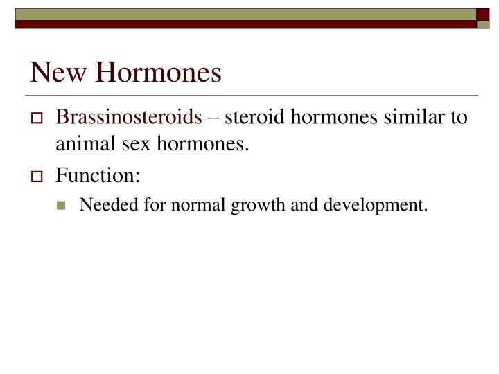 New Hormones