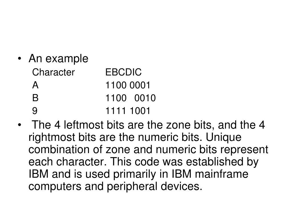 Ebcdic Example