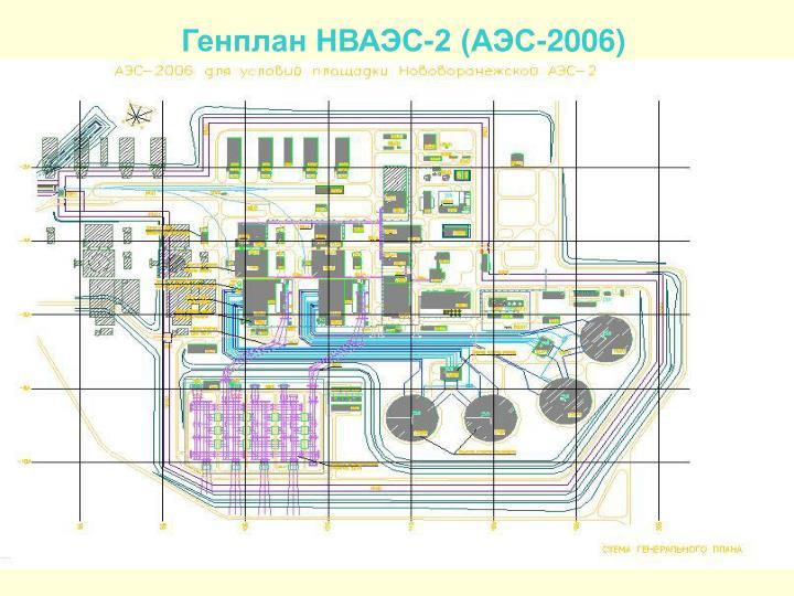 Генплан НВАЭС-2 (АЭС-2006)