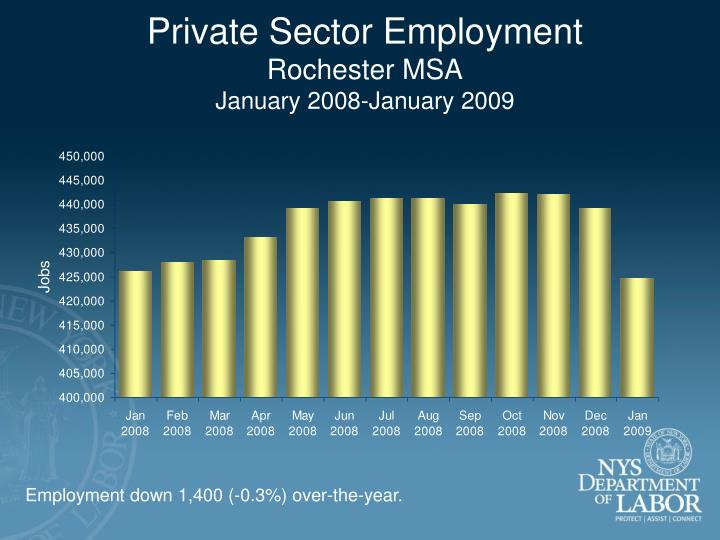 Private Sector Employment