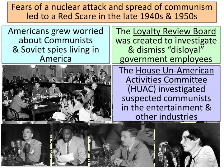 were america s fears during cold war In the 1948 election, he charged that the cold war was america's fault, and was principally the invention of us military and corporate interests for the purpose of consolidating their power by exploiting a baseless fear.