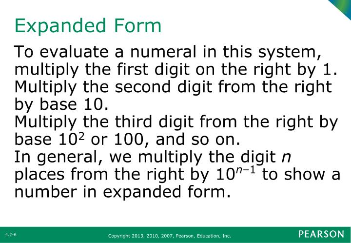 Ppt Section 42 Place Value Or Positional Value Numeration Systems