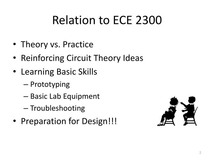 Relation to ece 2300