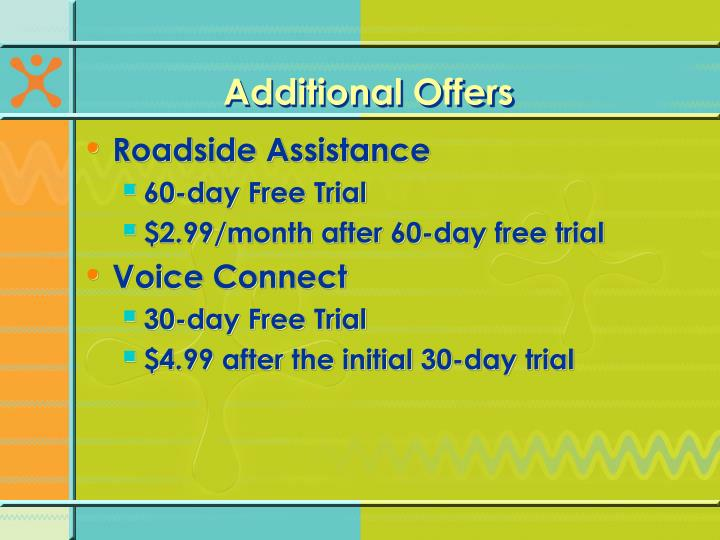 Additional Offers