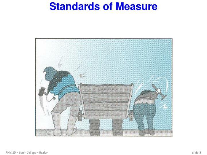 Standards of measure1