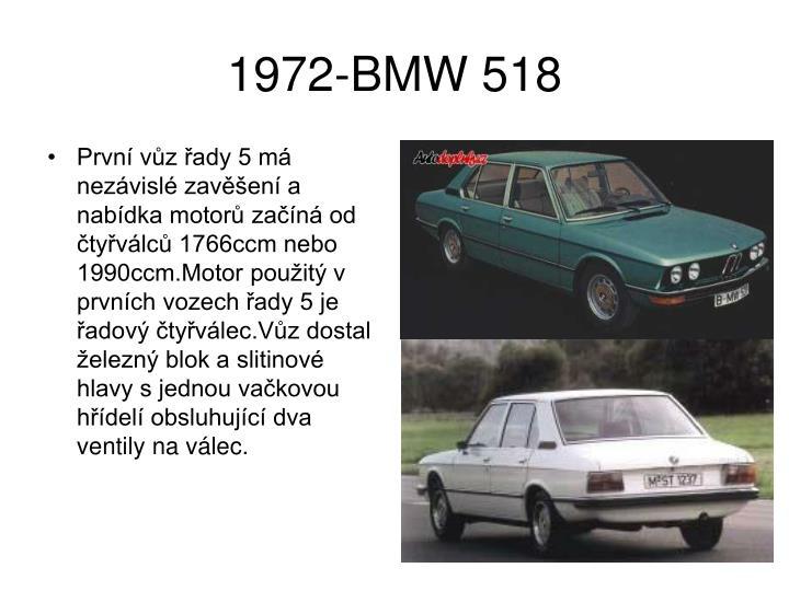 1972 bmw 518