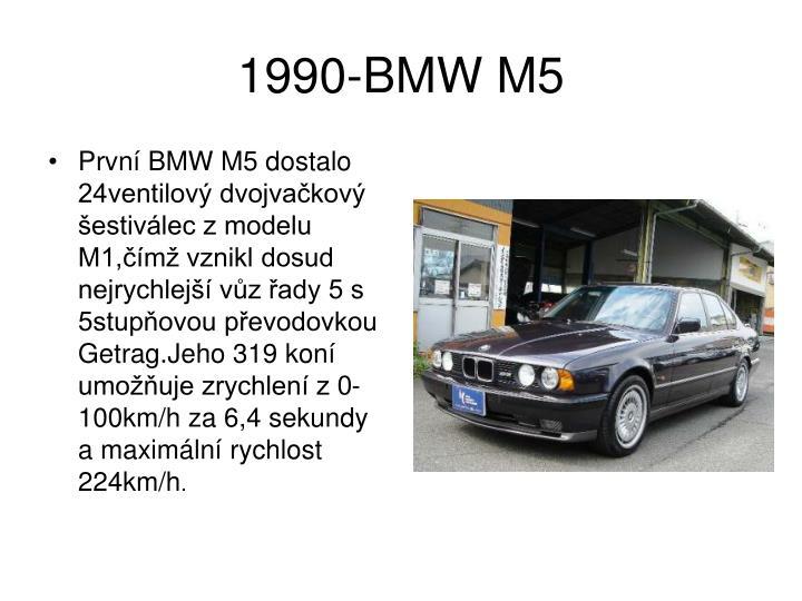 1990-BMW M5