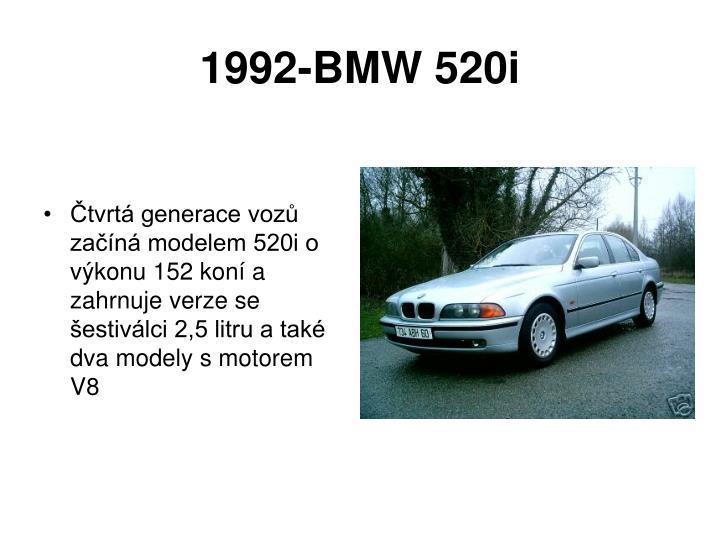 1992-BMW 520i