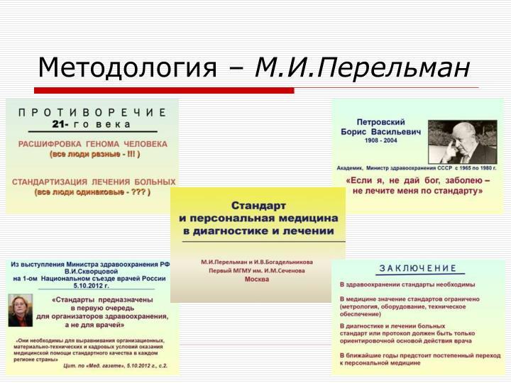 Методология –