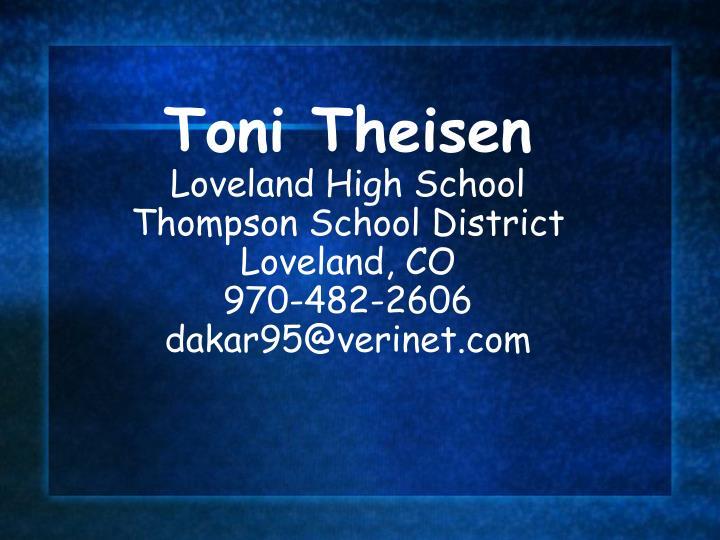 Toni Theisen