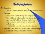 self plagiarism1