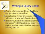 writing a query letter1