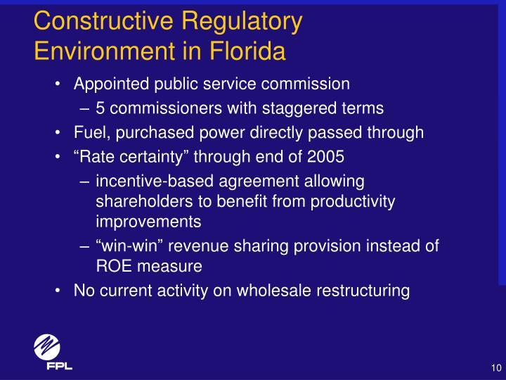 Constructive Regulatory