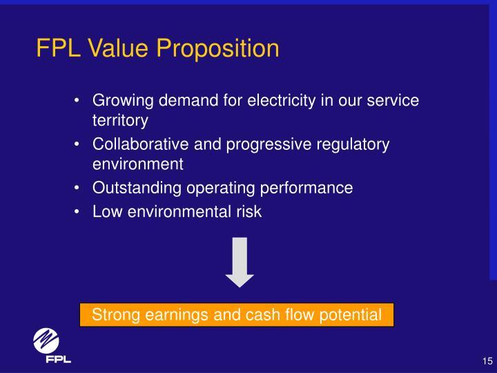 FPL Value Proposition