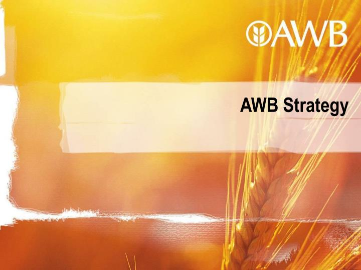 AWB Strategy