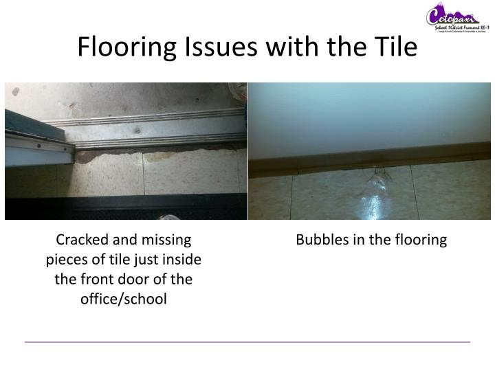 Flooring Issues with the Tile