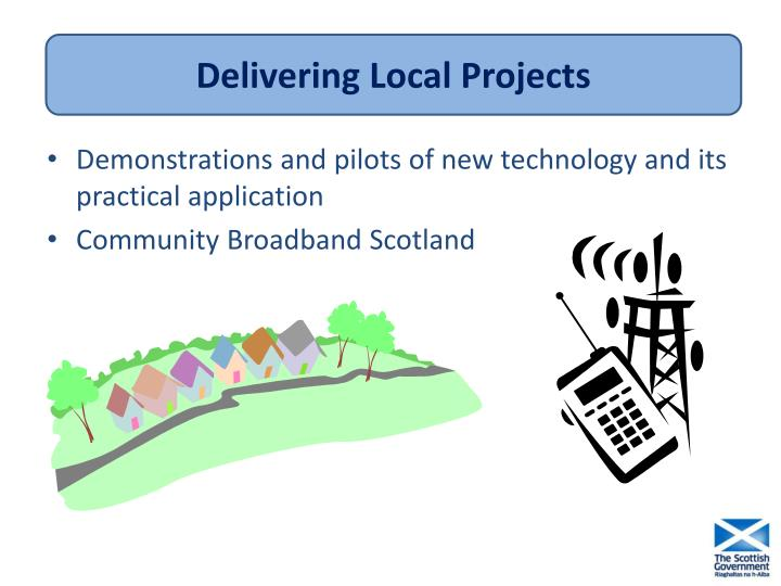 Delivering Local Projects