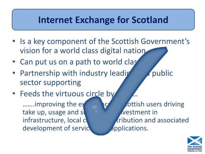 Internet Exchange for Scotland