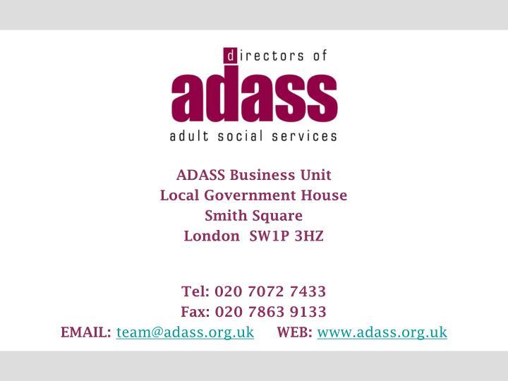 ADASS Business Unit
