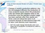 price of international division of labor finnish case continued3