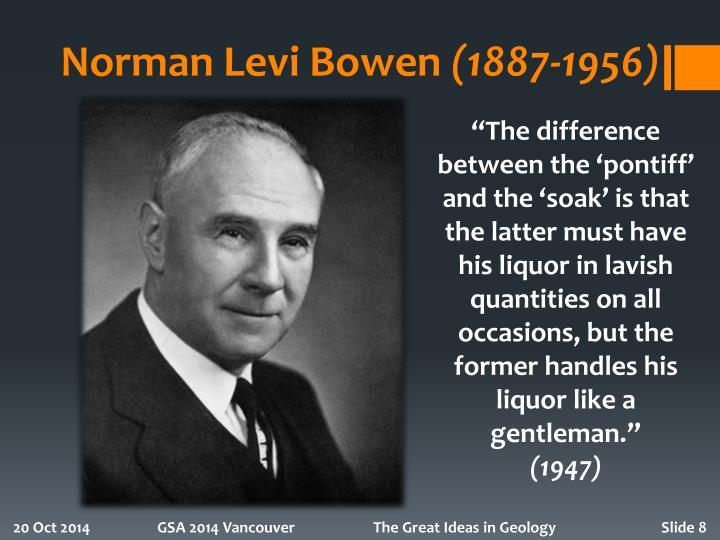 Norman Levi Bowen