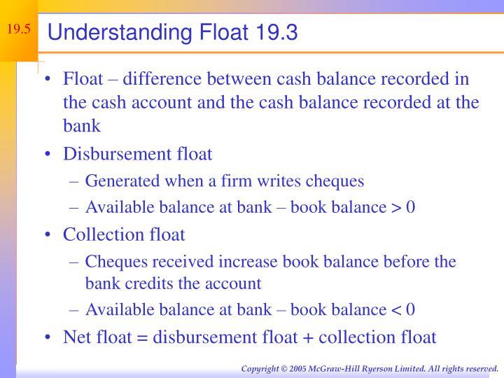 Understanding Float 19.3